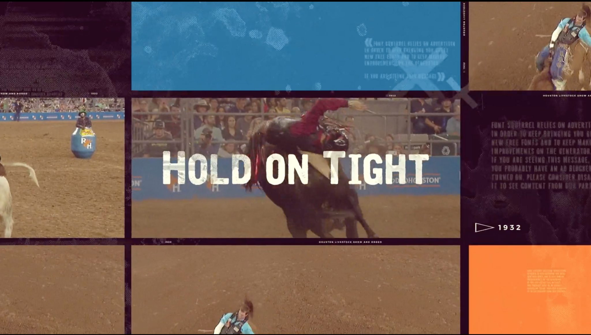 Rodeo Houston opening video